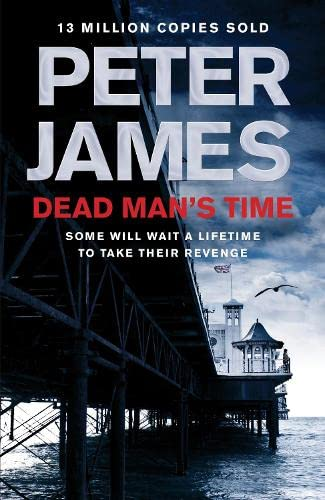DEAD MAN'S TIME - THE 9TH DS ROY GRACE CRIME THRILLER - RARE SIGNED & STAMPED FIRST EDITION FIRST...