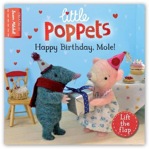 Little Poppets Happy Birthday Mole: Metcalf, Paula