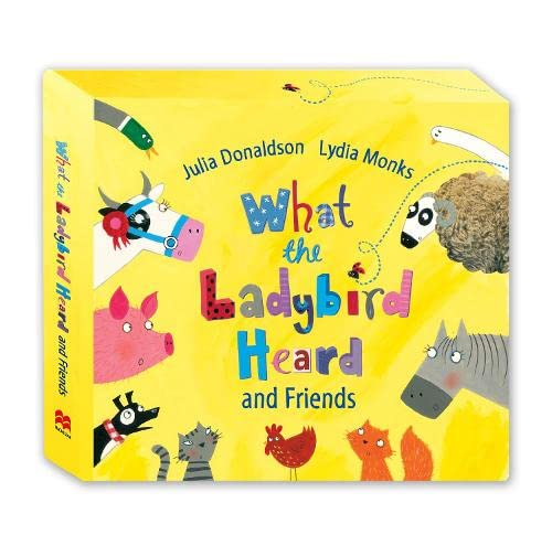 9780230765498: What the Ladybird Heard and Friends 4 Stories CD Box Set