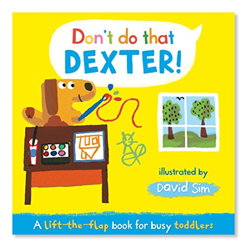 9780230766921: Don't Do That, Dexter!: A Lift-the-flap Book for Toddlers