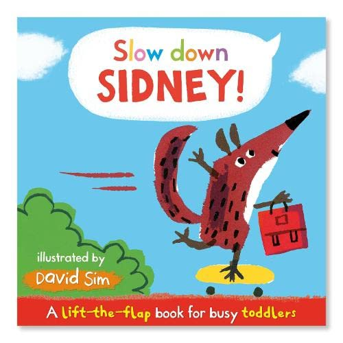 9780230766938: Slow Down, Sidney!: A Lift-the-flap Book for Toddlers