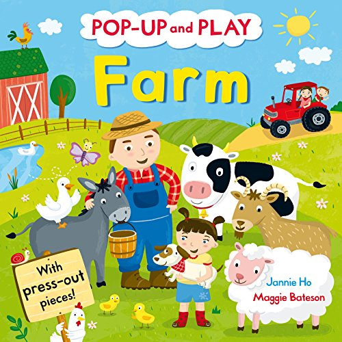 9780230767027: Pop-up and Play Farm: A pop-up gift book! (Pop Up & Play)