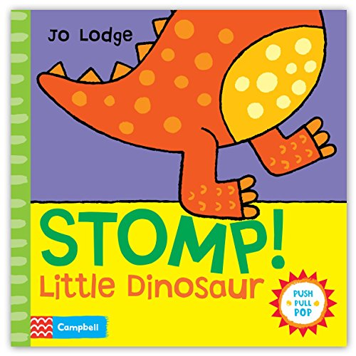 9780230767041: Stomp! Little Dinosaur: An interactive story book (Little Movers)