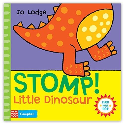9780230767041: Stomp! Little Dinosaur: An Interactive Story Book (Push, Pull, Pop!)