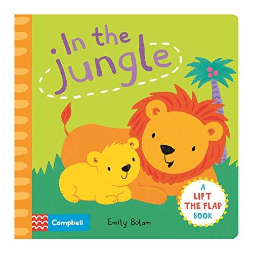 9780230767133: Peekabooks: In the Jungle: A lift-the-flap board book