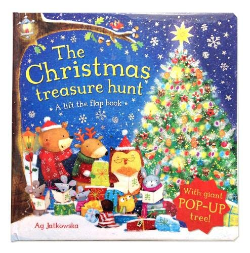 9780230768635: The Christmas Treasure Hunt: A Lift the Flap Book
