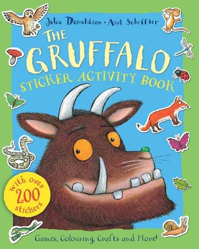9780230772489: The Gruffalo Sticker Activity Book