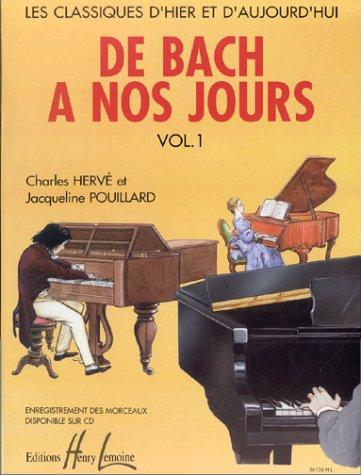 9780230961265: De Bach à nos jours Volume 1A