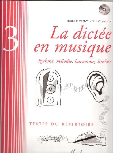 9780230982161: La dict�e en musique Volume 3 - fin du 1er cycle