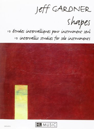 9780230988569: Shapes - 10 intervallic studies for solo instrument (French Edition)