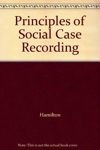 9780231015417: Principles of Social Case Recording
