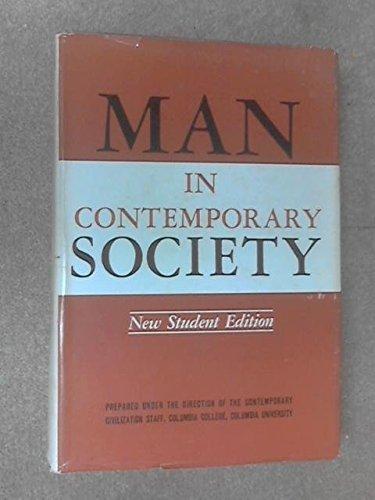 9780231020770: Man in Contemporary Society