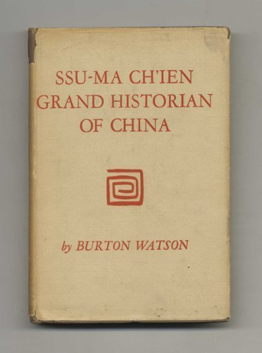 9780231021975: Ssu-ma Ch'ien: Grand Historian of China