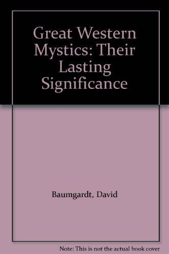 9780231023757: Great Western Mystics