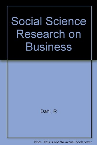 Social Science Research on Business: Robert A. Dahl