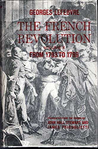 9780231025195: French Revolution from 1793-1799 (From 1793 to 1799)