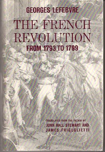 French Revolution from 1793-1799 (From 1793 to: Georges Lefebvre