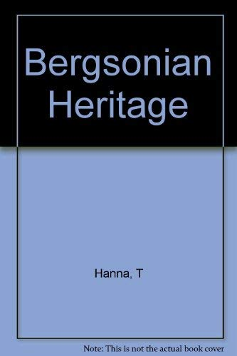 Hanna: Bergsonian Heritage (Cloth)