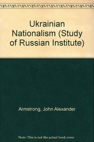 9780231025904: Ukrainian Nationalism
