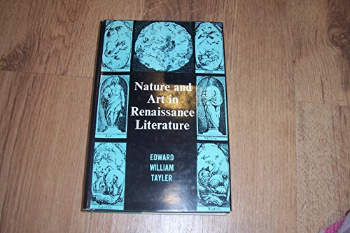9780231027182: Nature and Art in Renaissance Literature