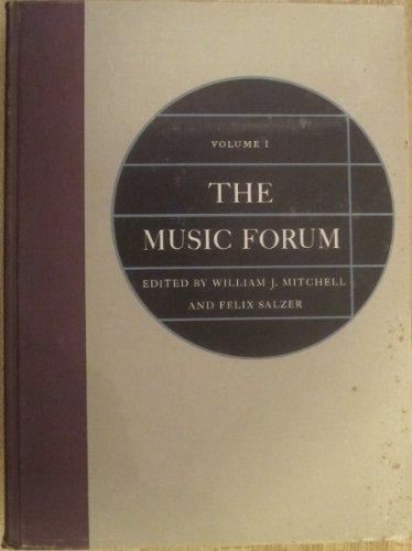 9780231028066: The Music Forum, Volume 1