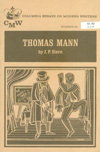 9780231028479: Thomas Mann (Essays on Modern Writers)