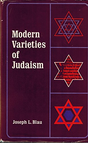 9780231028677: Modern Varieties of Judaism