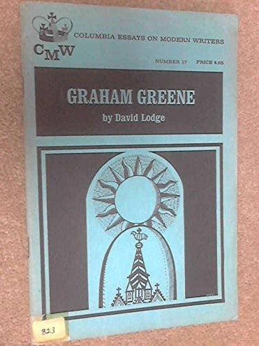 Graham Greene (Essays on Modern Writers): Lodge, David