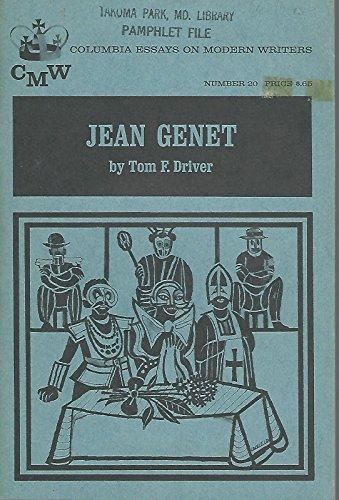 9780231029421: Jean Genet (Essays on Modern Writers)