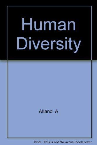 9780231032278: Human Diversity