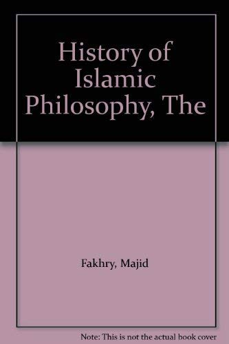 9780231032315: History of Islamic Philosophy (Study in Oriental Culture)