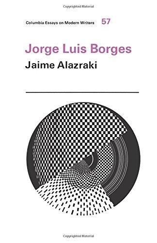 9780231032834: Jorge Luis Borges (Columbia Essays on Modern Writers)
