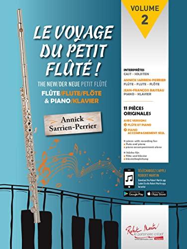 9780231036078: Le voyage du petit flûté -Volume 2 -Flûte et Piano (Partition et partie(s) + CD)