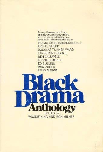 9780231036443: Black Drama Anthology