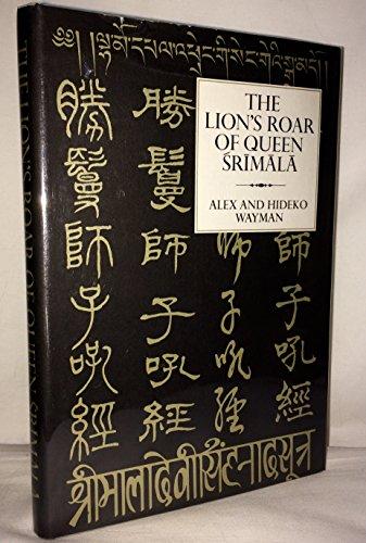9780231037266: Lion's Roar of Queen Srimala: Sri-mala-sutra (English and Sanskrit Edition)