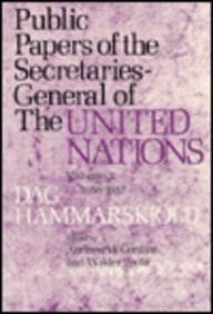 9780231037358: Public Papers of the Secretaries General of the United Nations