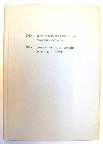 9780231039284: New Approaches to Eighteenth Century Literature (English Institute Essays)