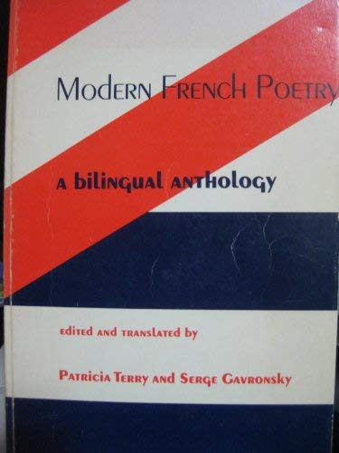 9780231039581: Modern French Poetry: A Bilingual Anthology (English and French Edition)