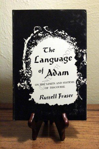 9780231042567: The Language of Adam