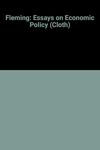 Essays on Economic Policy: J. Marcus Fleming