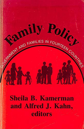 Family Policy : Government and Families in: Kamerman, Sheila B.