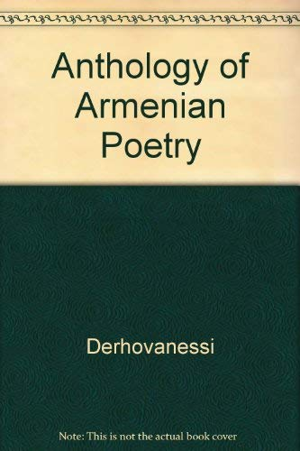 9780231045643: Anthology of Armenian Poetry