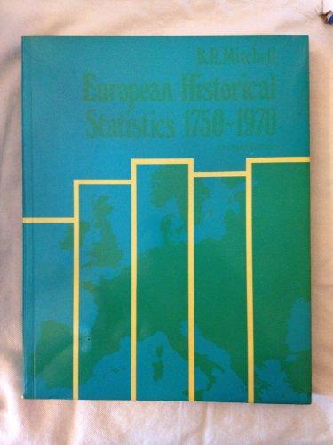 9780231045698: European Historical Statistics, 1750-1970. Abridged Ed