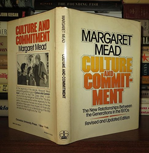 9780231046329: Mead: Culture & Commitment (Cloth)