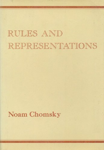 9780231048262: Chomsky: Rules and Representations (Cloth) (Woodbridge lectures delivered at Columbia University ; no. 11, 1978)