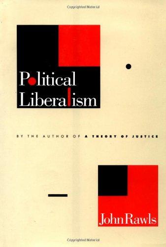 9780231052481: Political Liberalism