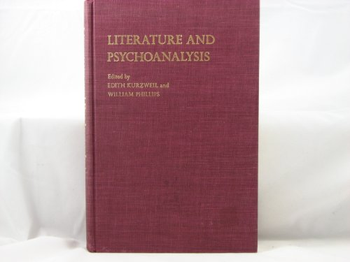 9780231052627: Literature and Psychoanalysis