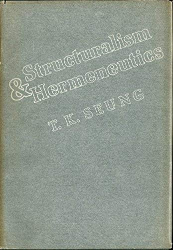 Structuralism and Hermeneutics