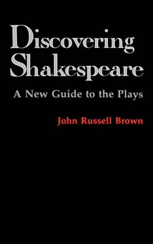 9780231053594: Discovering Shakespeare: A New Guide to the Plays