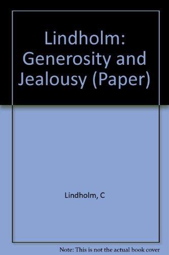 9780231053990: Generosity and Jealousy: The Swat Pukhtun of Northern Pakistan
